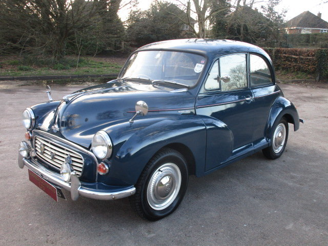 1964 Morris Minor 1000 (Debit Cards Accepted & Delivery) SOLD (picture 2 of 6)