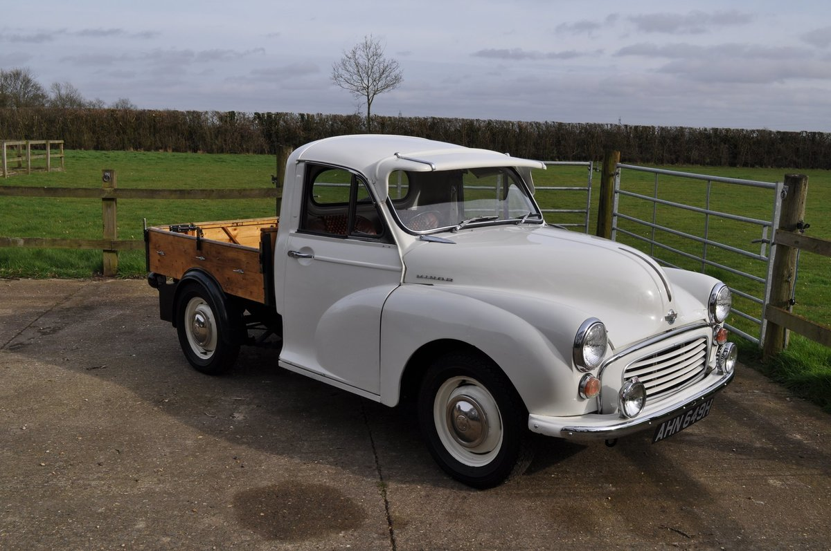 Morris Minor Pickup 1969 Classic Car SOLD (picture 5 of 6)