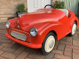 MORRIS MINOR JUNIOR PEDAL CAR