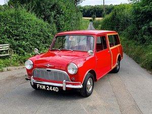 1965 Morris Mini Mk1 Traveller