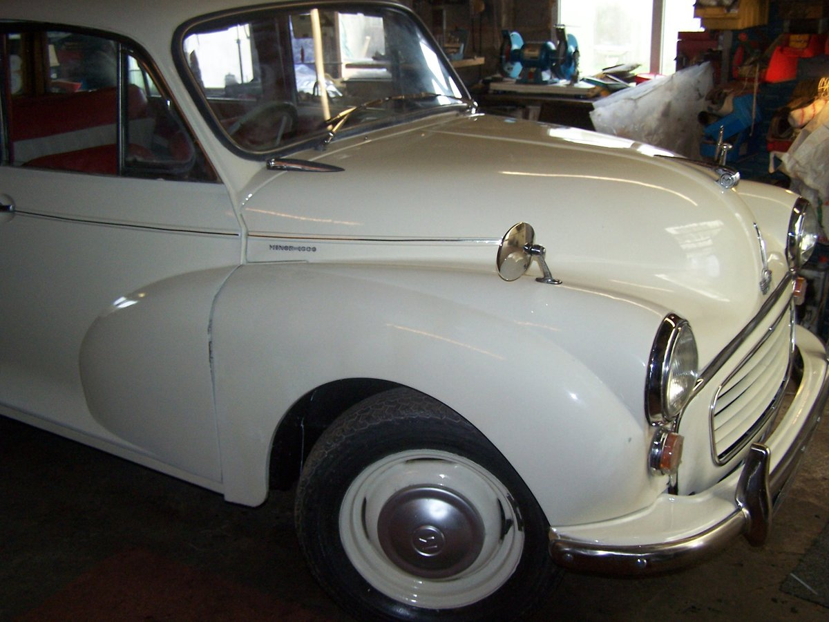 1962 Minor traveller SOLD (picture 1 of 6)
