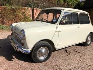 1960 Morris Mini Mk1 850 De-Luxe - 13,000 miles