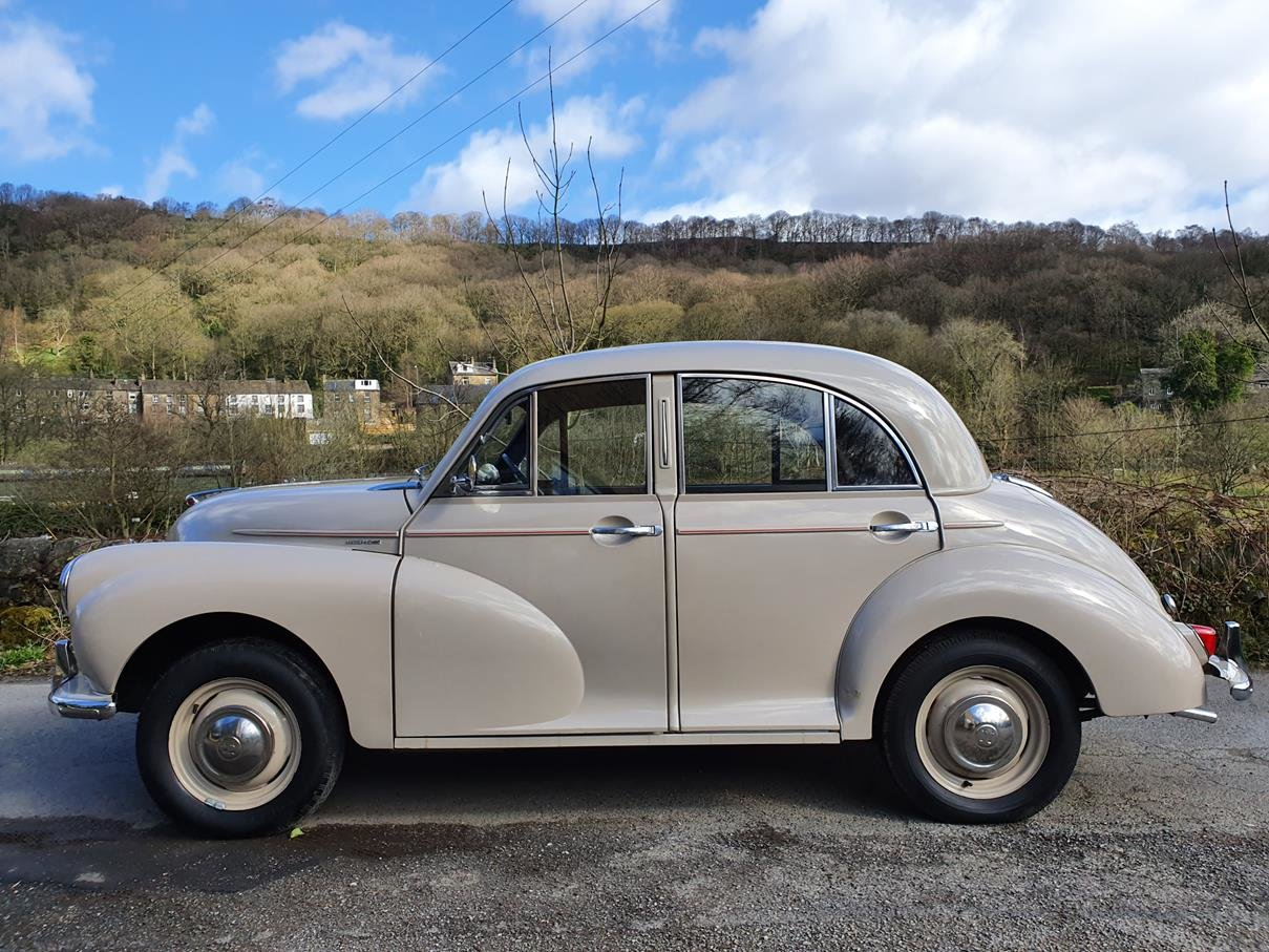 1955 Vey tidy Sandy Beige 4 door, aged to perfection! SOLD (picture 2 of 6)