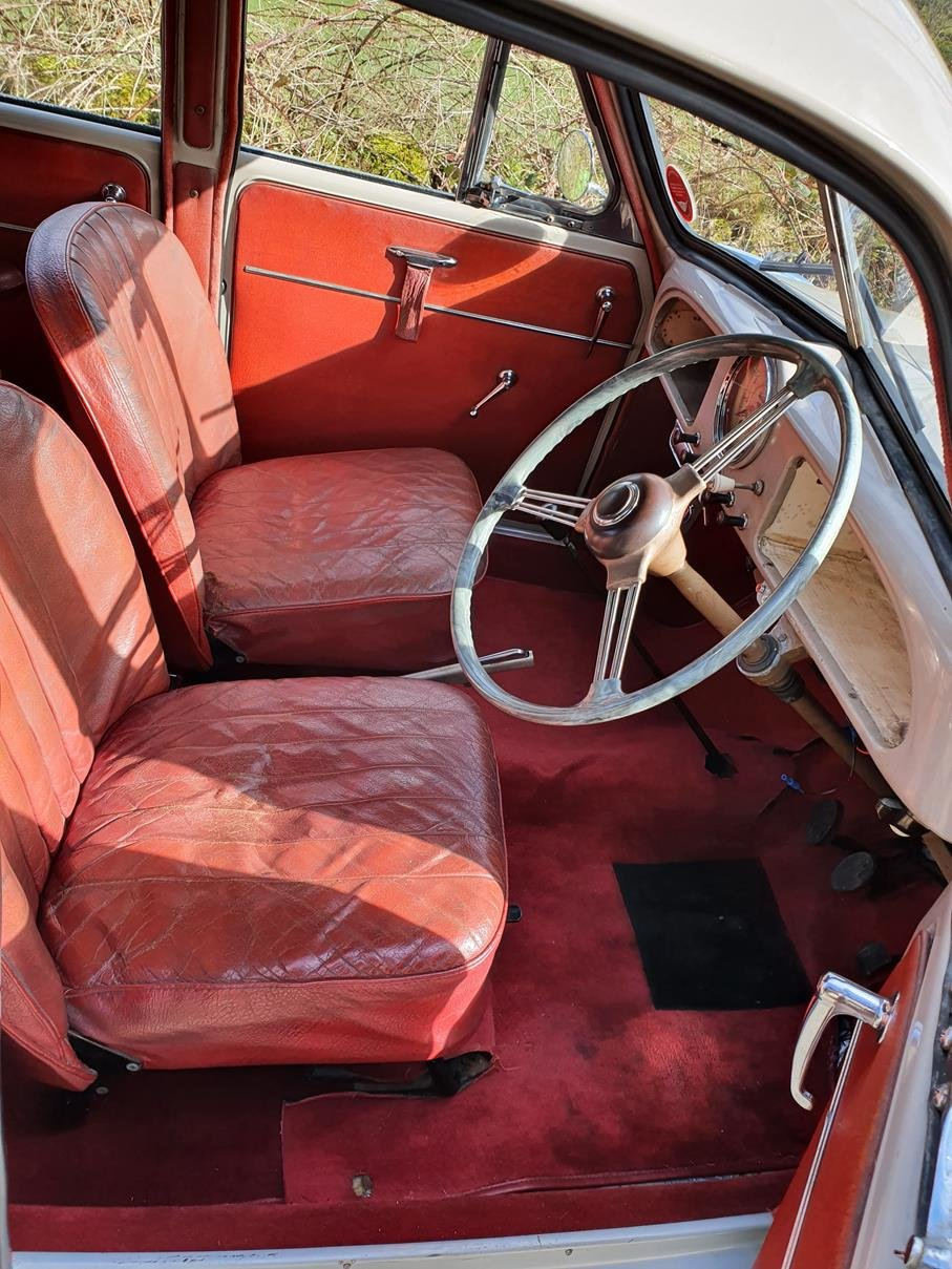 1955 Vey tidy Sandy Beige 4 door, aged to perfection! SOLD (picture 5 of 6)