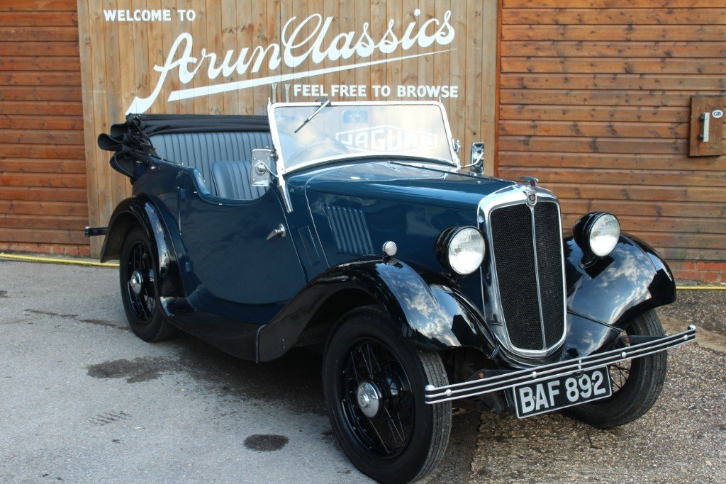 Famous 1935 Morris 8 Tourer, As seen on TV For Sale (picture 1 of 6)
