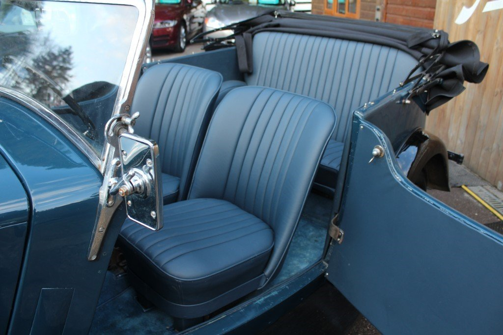Famous 1935 Morris 8 Tourer, As seen on TV For Sale (picture 3 of 6)