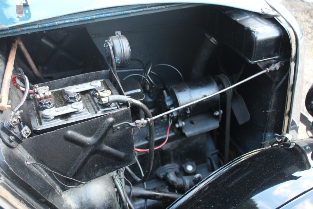 Famous 1935 Morris 8 Tourer, As seen on TV For Sale (picture 5 of 6)