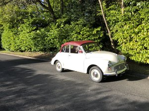 1967 Morris minor convertible , (post)great little car