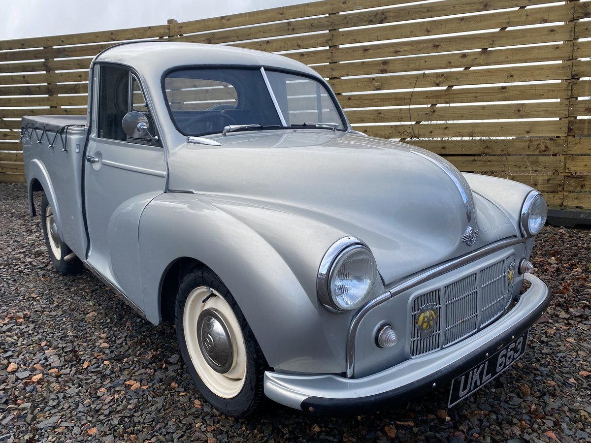 1955 Outstanding Morris Minor Pick Up For Sale (picture 1 of 6)