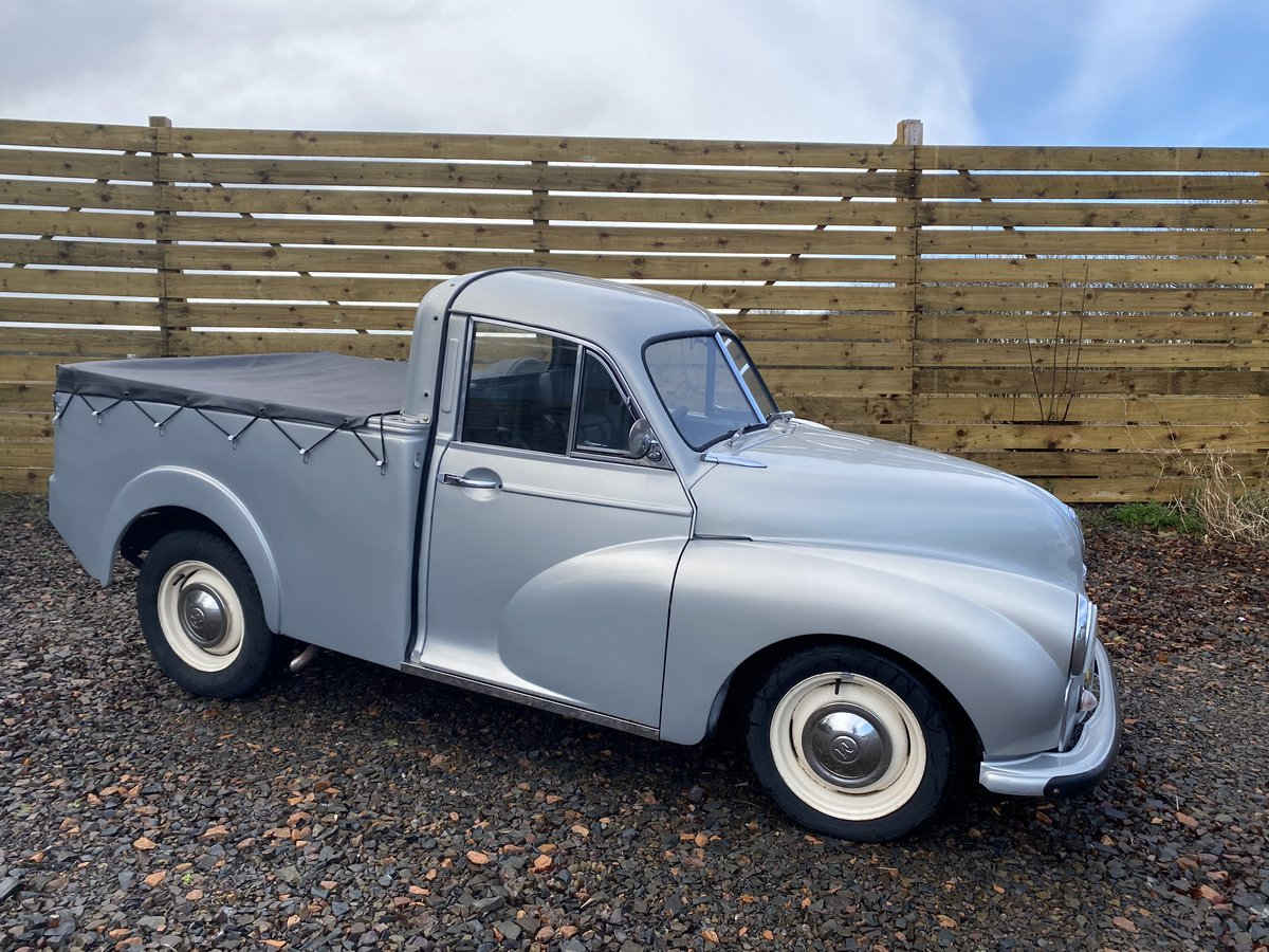 1955 Outstanding Morris Minor Pick Up For Sale (picture 2 of 6)