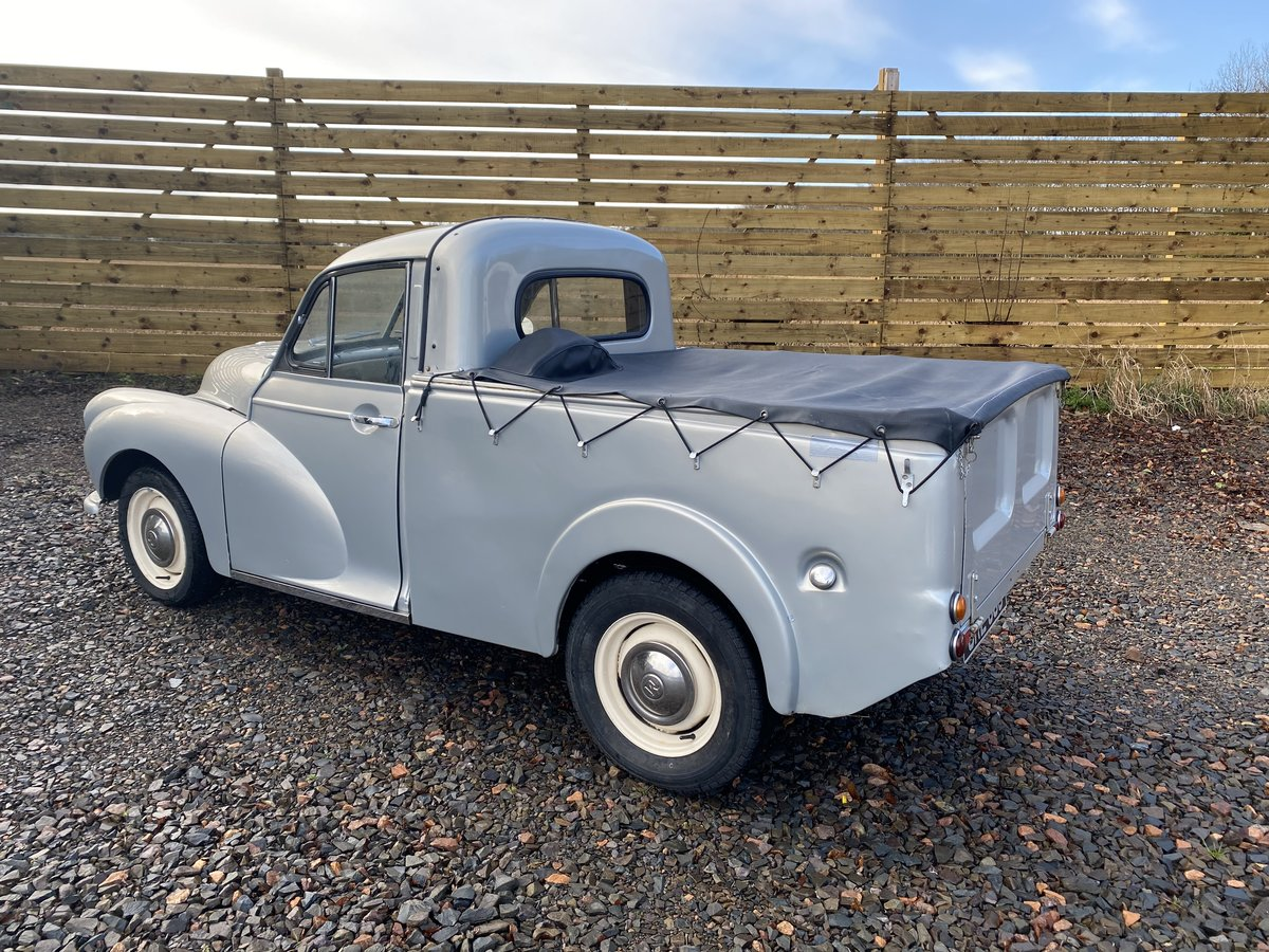 1955 Outstanding Morris Minor Pick Up For Sale (picture 3 of 6)