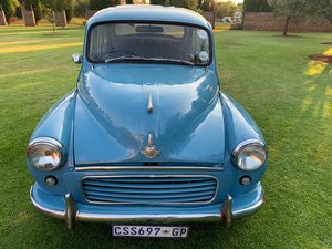 Morris Minor with 1400cc Nissan Motor