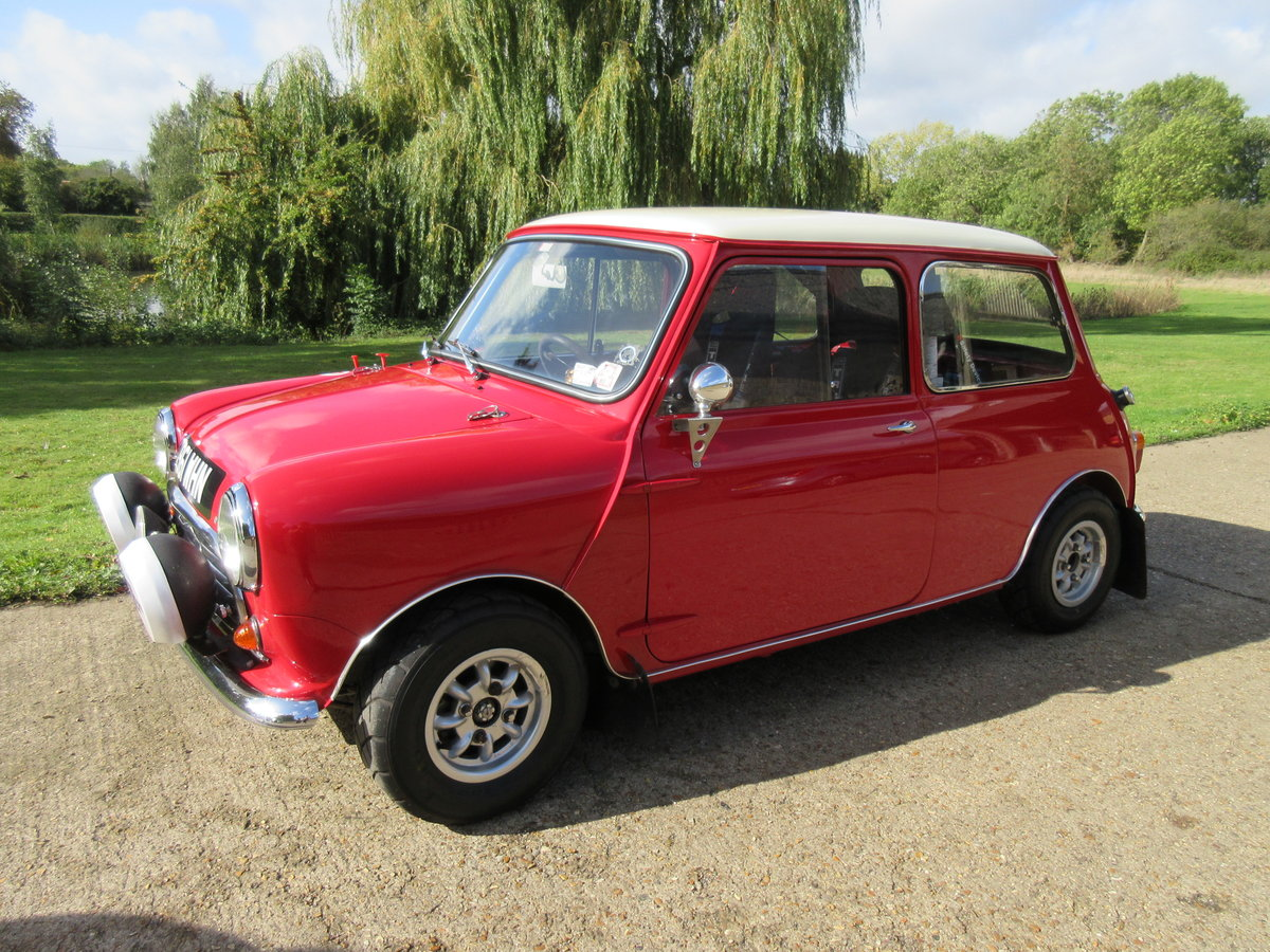 1964 Morris Mini Cooper 1275 MSA Approved Historic Rally Car For Sale (picture 1 of 6)