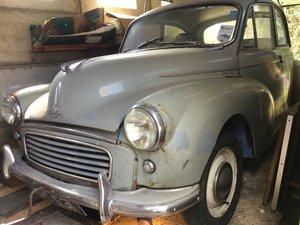 1958 Morris Minor - garage find - London