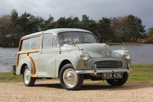 1957 Morris Minor 1000 Traveller 2 owners from new SOLD