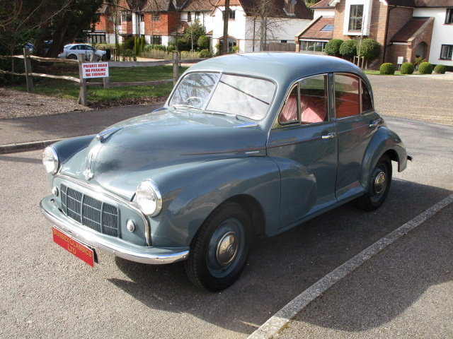 1953 Morris Minor Saloon  (Free Delivery within 200 miles) SOLD (picture 1 of 6)