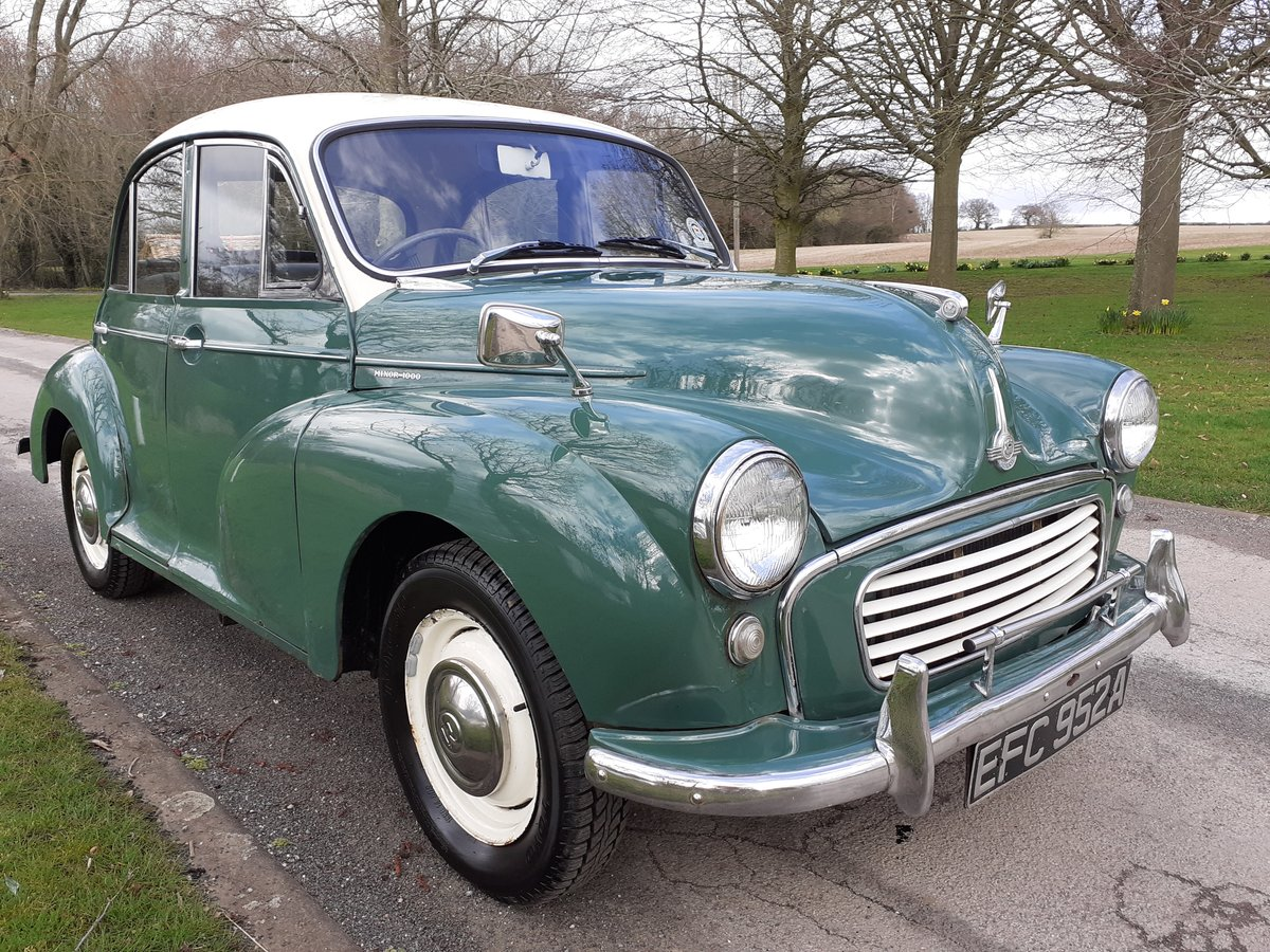1963 MORRIS MINOR 1000 'STANLEY' ~ VALUE ENTRY CLASSIC!!!    SOLD (picture 1 of 6)