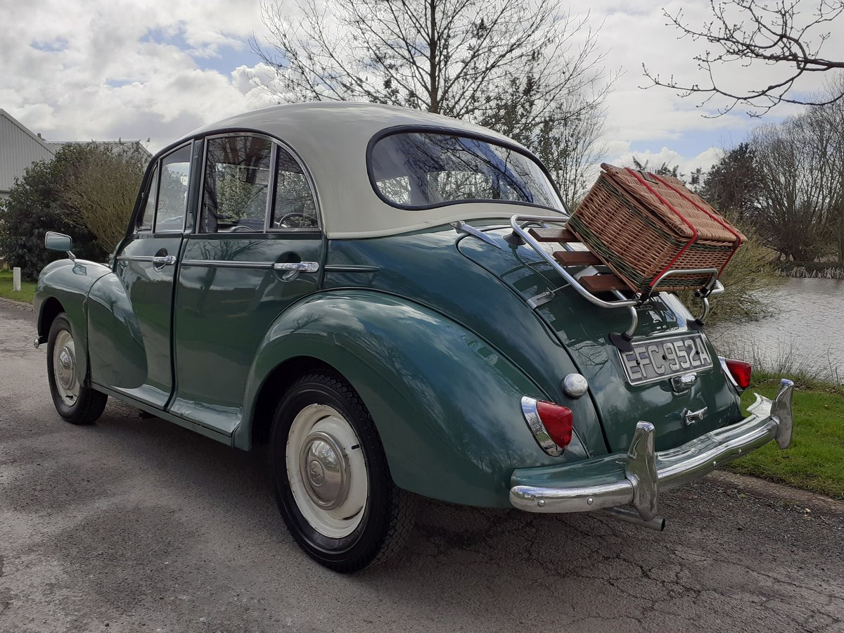 1963 MORRIS MINOR 1000 'STANLEY' ~ VALUE ENTRY CLASSIC!!!    SOLD (picture 2 of 6)