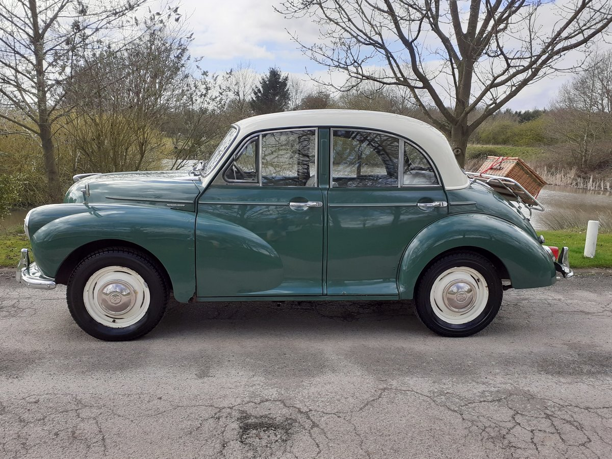 1963 MORRIS MINOR 1000 'STANLEY' ~ VALUE ENTRY CLASSIC!!!    SOLD (picture 3 of 6)