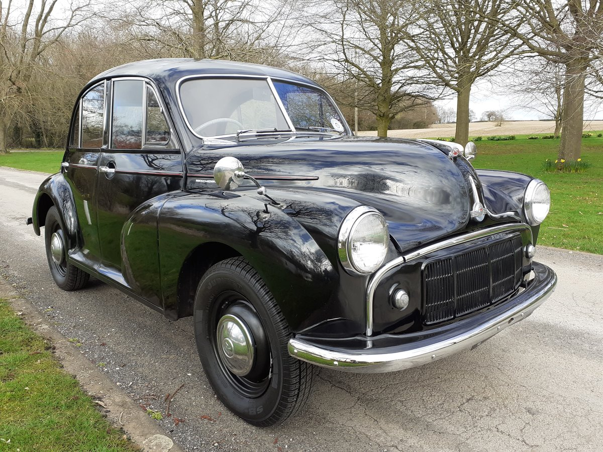 1954 MORRIS MINOR SERIES II 'SPLIT-SCREEN' ~ INVESTMENT!!    SOLD (picture 1 of 6)