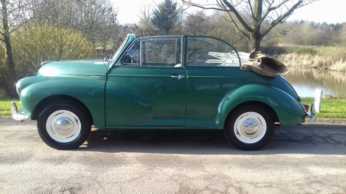 1962 MORRIS MINOR TOURER 'FACTORY CONVERTIBLE' (MAT) ~ VALUE SOLD (picture 1 of 6)