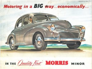 MORRIS MINORS WANTED ~ ANYTHING CONSIDERED ~ COLLECTED TODAY