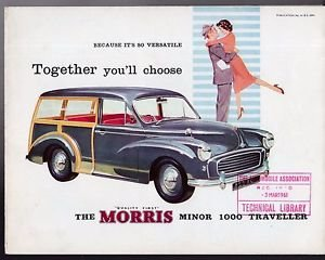 1963 MORRIS TRAVELLERS WANTED ~ ANYTHING CONSIDERED ~ COLLECTED For Sale (picture 1 of 2)