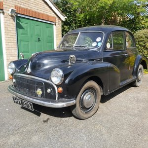1953 Morris Minor For Sale by Auction
