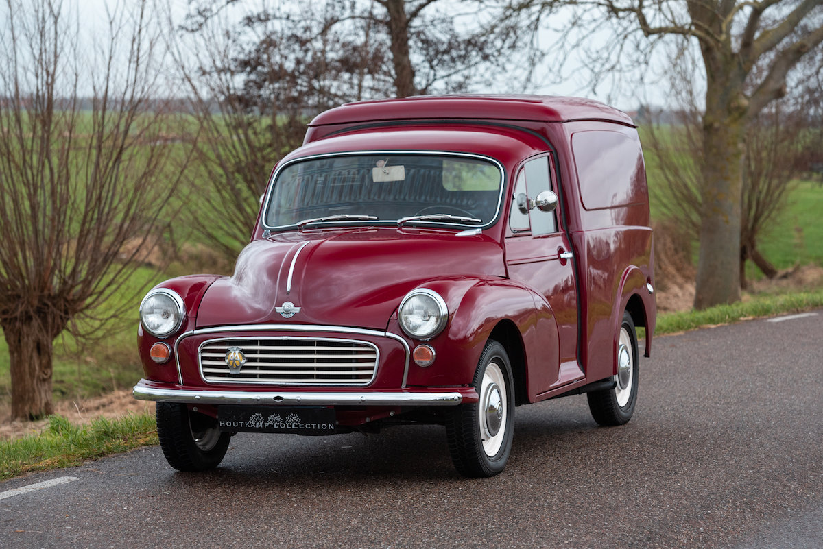 1968 MORRIS MINOR VAN / COMMERCIAL, nicely restored exampke For Sale (picture 1 of 6)