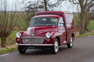 1968 MORRIS MINOR VAN / COMMERCIAL, nicely restored exampke