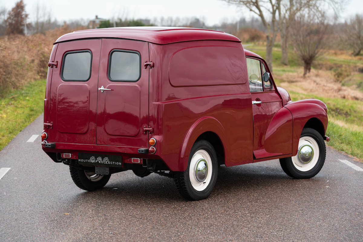 1968 MORRIS MINOR VAN / COMMERCIAL, nicely restored exampke For Sale (picture 2 of 6)