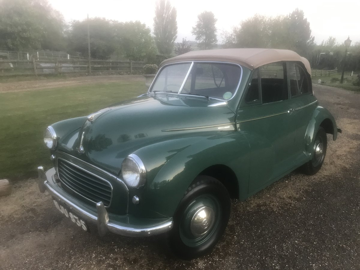 1955 Morris Minor Convertible For Sale (picture 2 of 6)