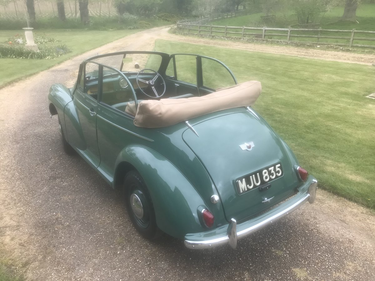 1955 Morris Minor Convertible For Sale (picture 3 of 6)