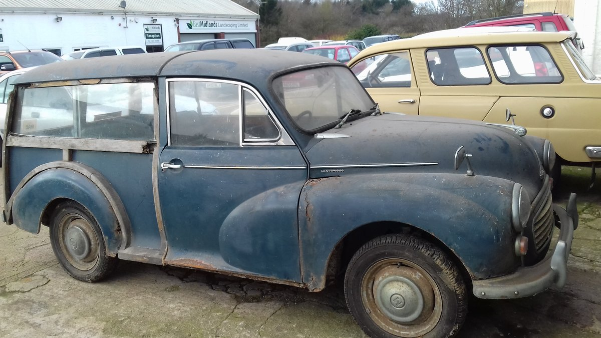 1968 MORRIS MINOR TRAVELLER ~ BARN FIND ~ RESTO PROJECT!     SOLD (picture 1 of 6)