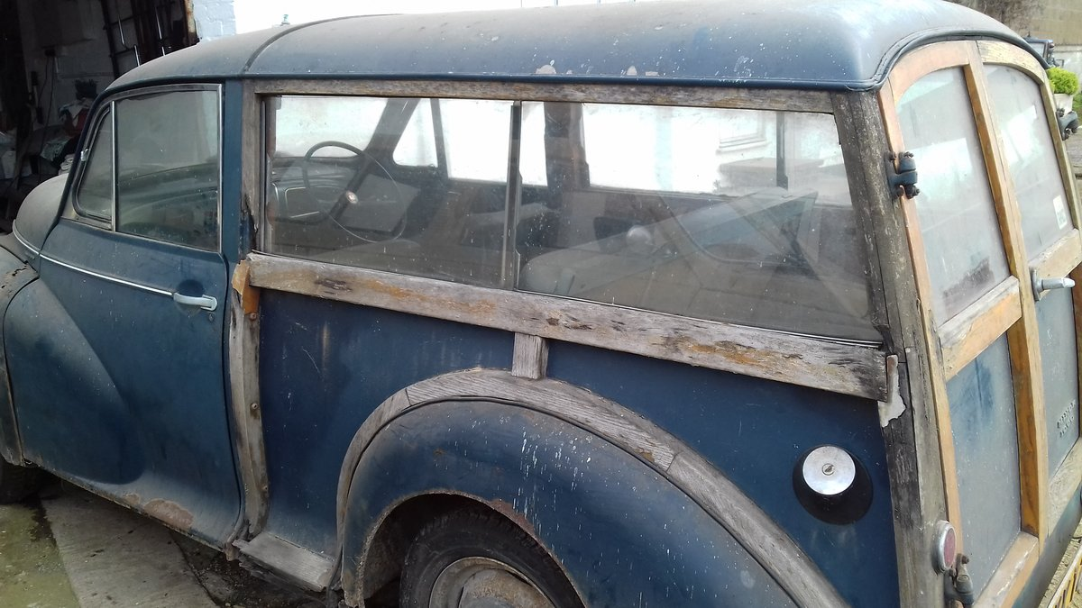 1968 MORRIS MINOR TRAVELLER ~ BARN FIND ~ RESTO PROJECT!     SOLD (picture 2 of 6)