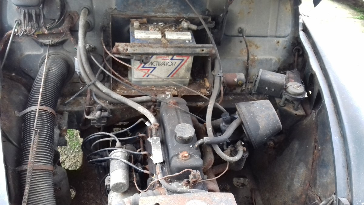 1968 MORRIS MINOR TRAVELLER ~ BARN FIND ~ RESTO PROJECT!     SOLD (picture 6 of 6)