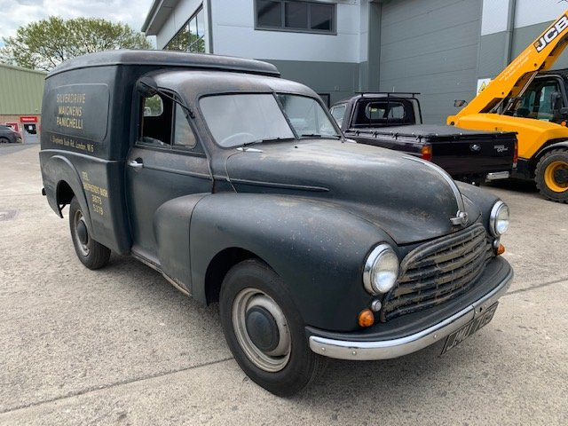 1951 Morris Oxford Van SOLD by Auction (picture 1 of 1)