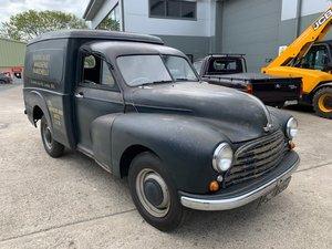 1951  Morris Oxford Van