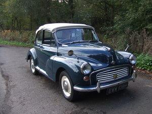 1970 Morris Minor 1000 Convertible