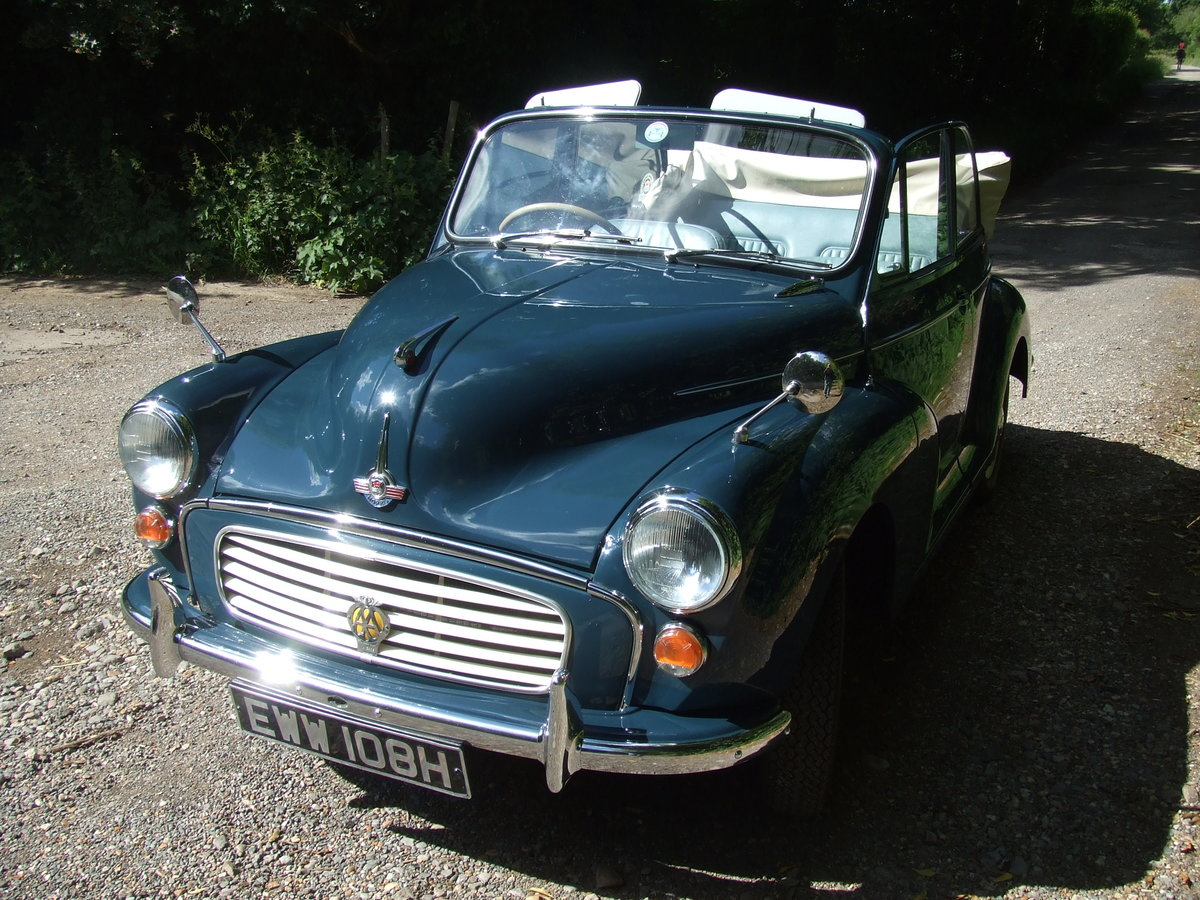 1970 Morris Minor 1000 Convertible SOLD (picture 6 of 6)