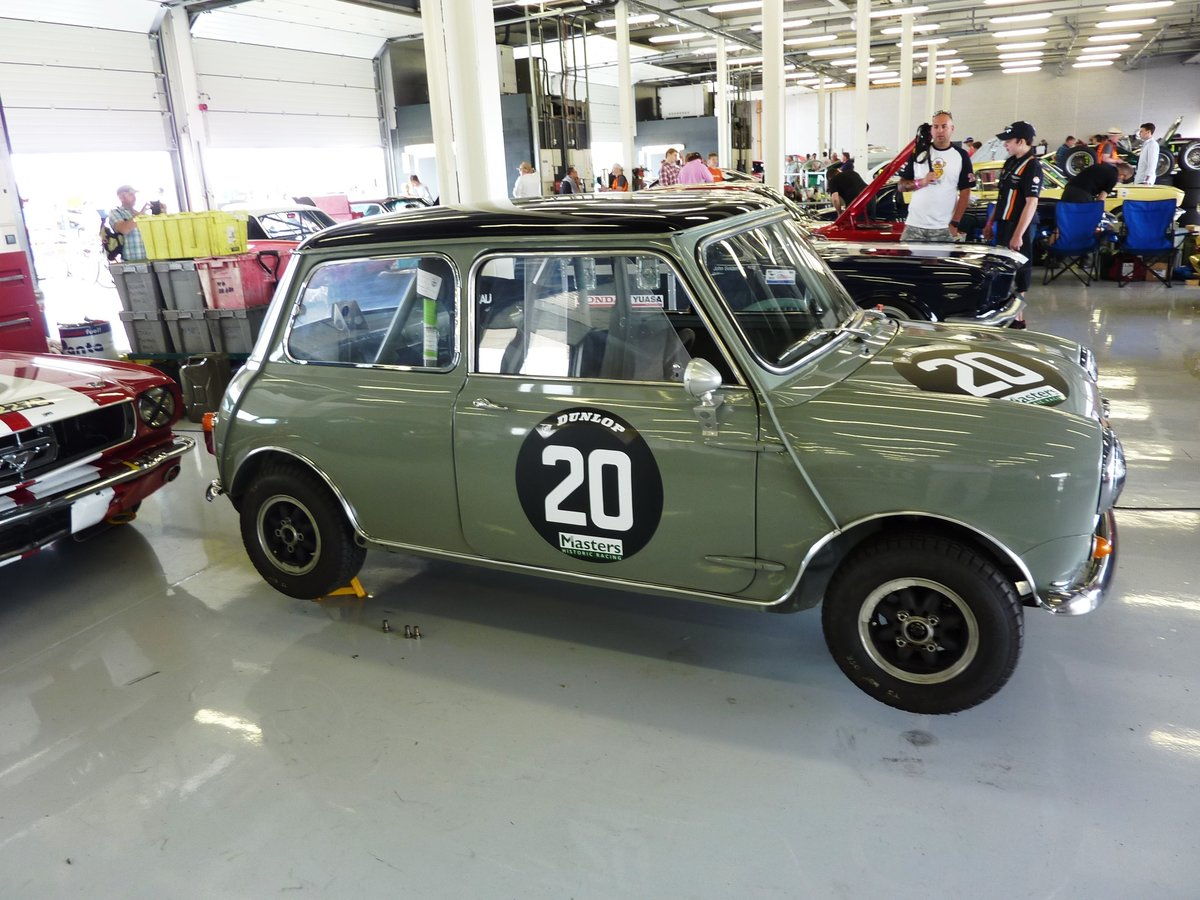 1965 Mini Cooper 1275 S Full race FIA Appendix K car For Sale (picture 5 of 6)