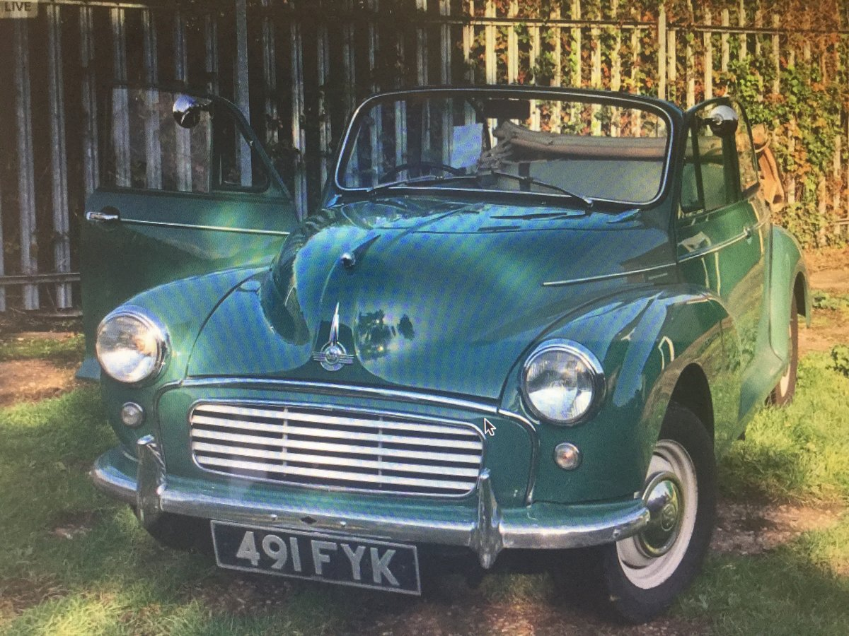 1963 Morris minor Genuine factory convertible For Sale (picture 2 of 6)
