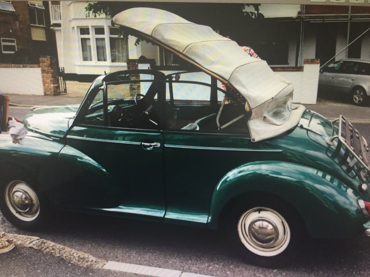 1963 Morris minor Genuine factory convertible For Sale (picture 5 of 6)