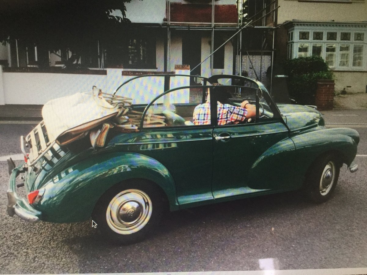 1963 Morris minor Genuine factory convertible For Sale (picture 6 of 6)
