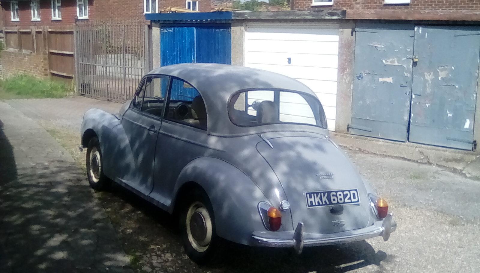 1966 Morris Minor 2 door saloon For Sale (picture 2 of 6)