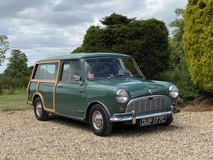 1965 Morris Mini Traveller MK I. Bare Shell Restoration