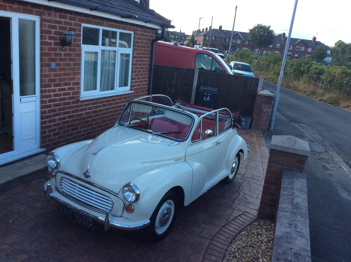 1966 Morris Minor Convertible for sale SOLD (picture 2 of 6)