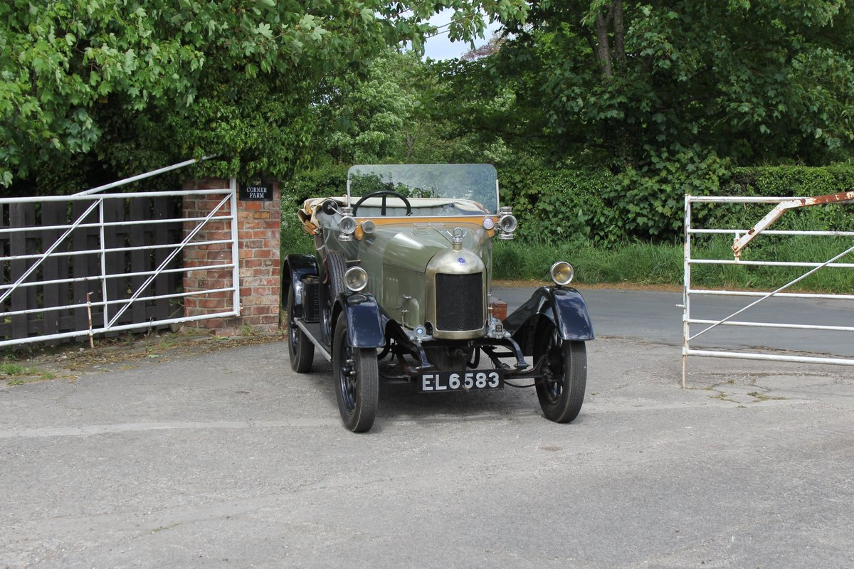 1922 Morris Bullnose Cowley Tourer, Beautifully Presented For Sale (picture 1 of 16)