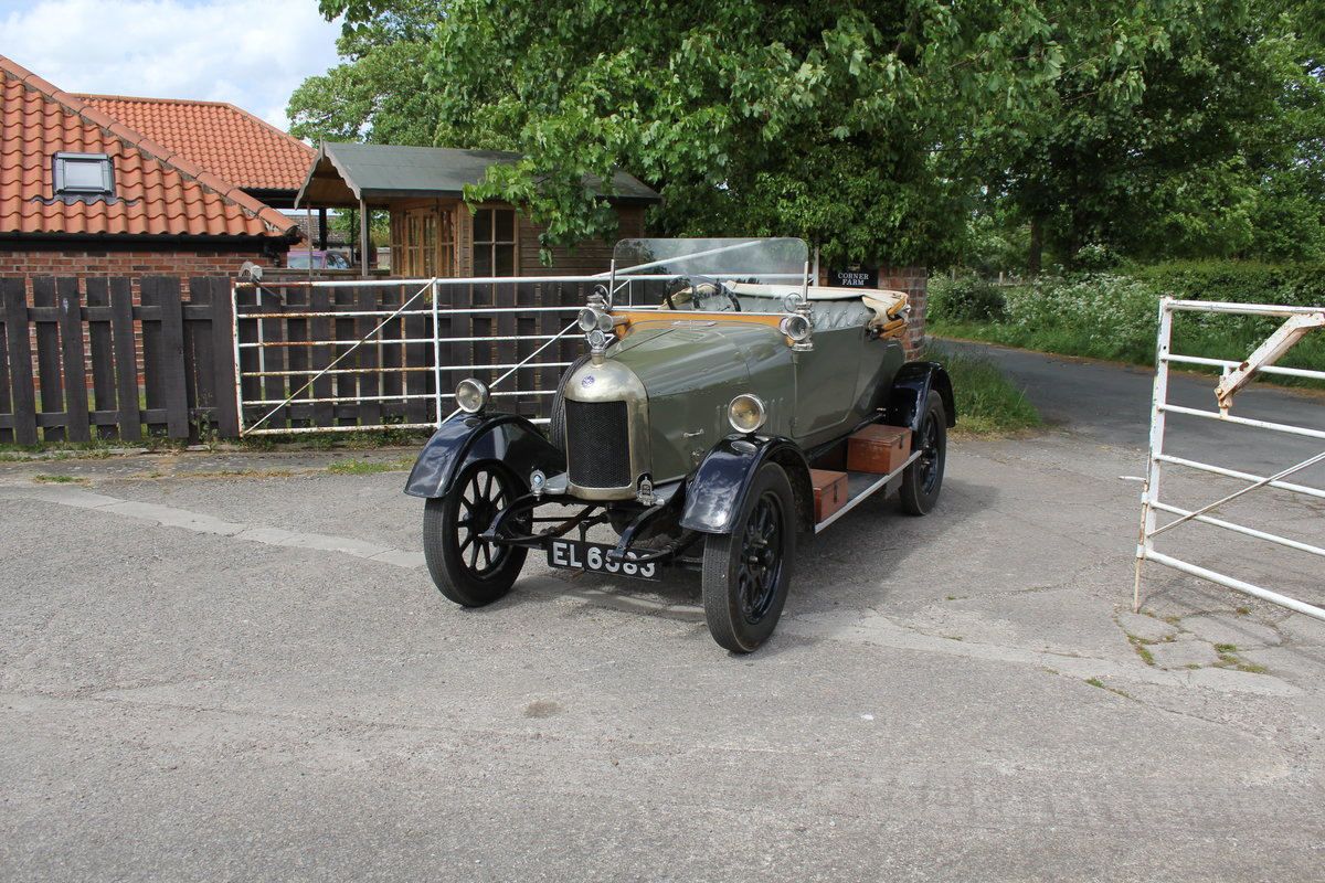 1922 Morris Bullnose Cowley Tourer, Beautifully Presented For Sale (picture 3 of 16)