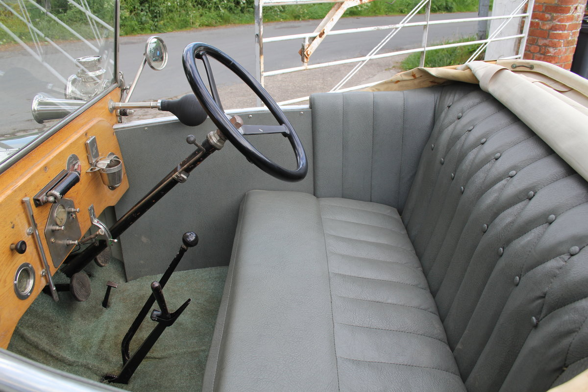 1922 Morris Bullnose Cowley Tourer, Beautifully Presented For Sale (picture 11 of 16)